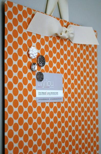 DIY Cookie Sheet Magnetic Board