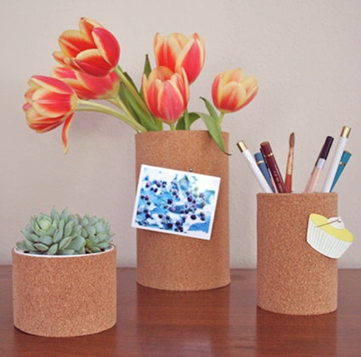 DIY Cork Container