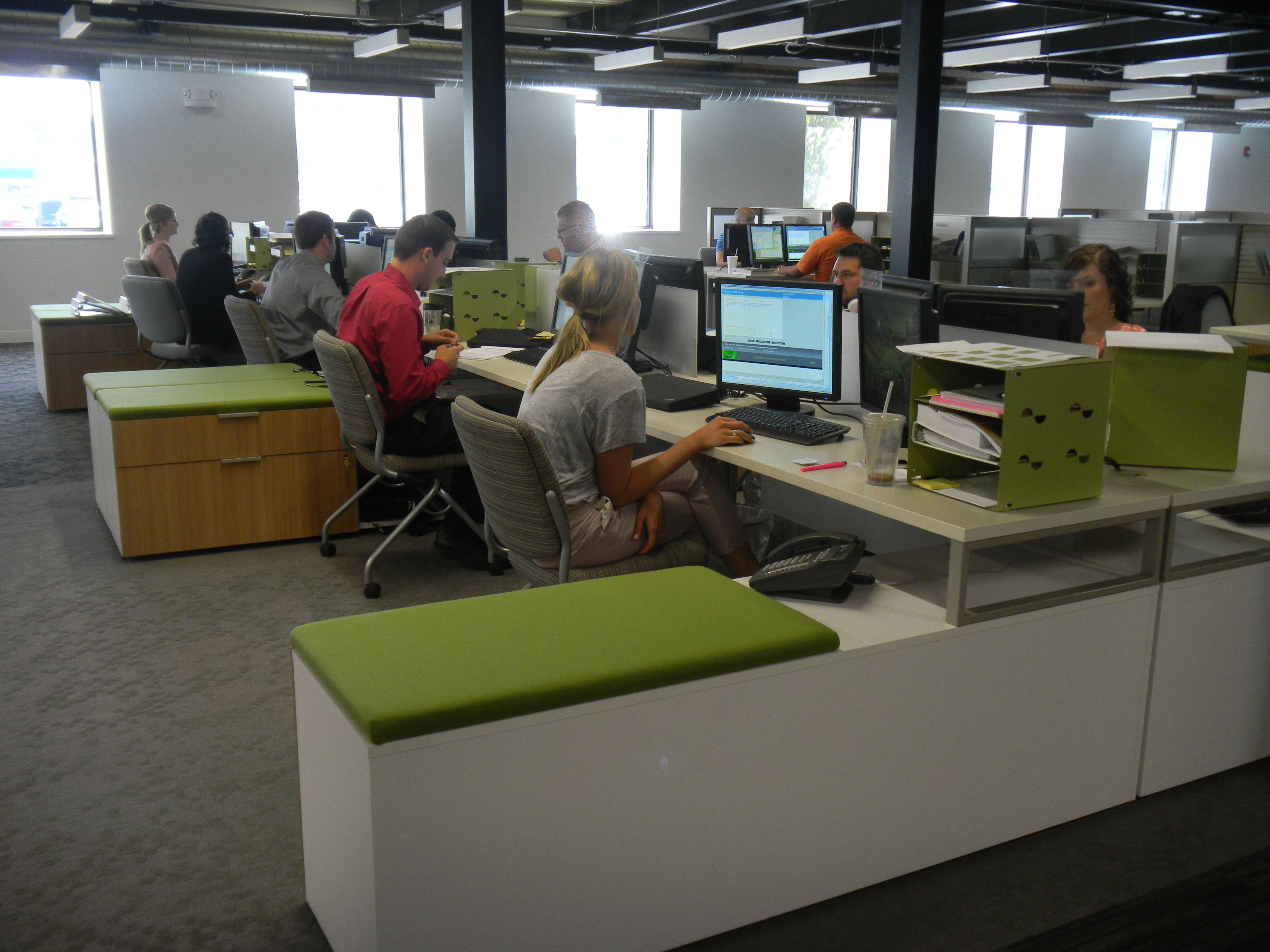 Abound workstation forward for Office design considerations