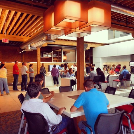 Our members love our commons! Great for a meeting area, lunch, etc.