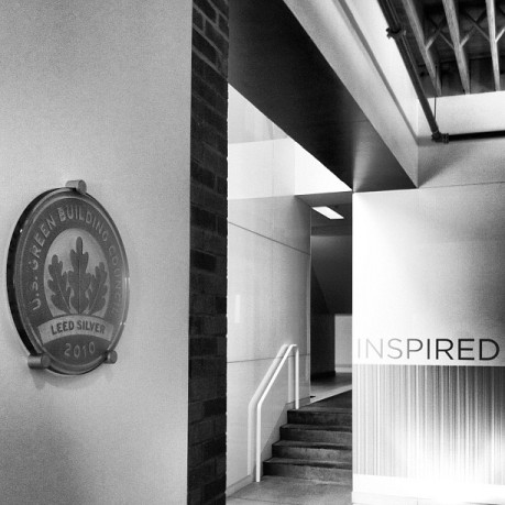 We love our USGBC LEED Silver 100+ yr old HQ building!