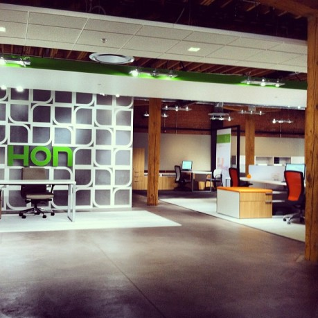 Our 5,390 sq. ft. showroom (also LEED certified)