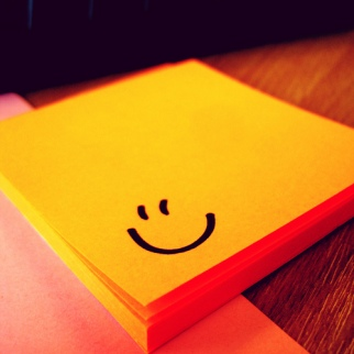Post It Note Smile