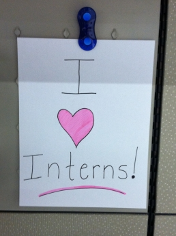 HON Loves Interns!