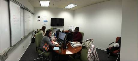 Pictured: Training class in Customer Solutions conference room