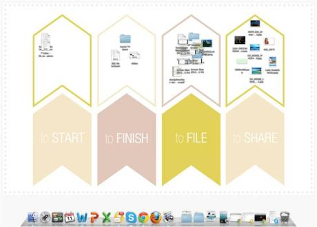 super organized desktop