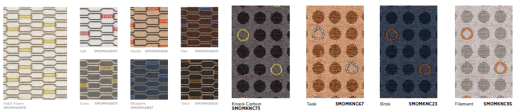 New Fabrics and Finishes
