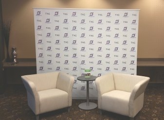 HON partnered with Tag Communications to create this inviting interview space at the 2015 Iowa Association of Business and Industry Conference.