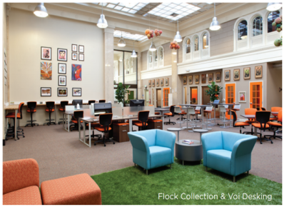 From Santa Cruz to Berkeley, Flock solutions have been supporting NextSpace co-working locations in a variety of applications.