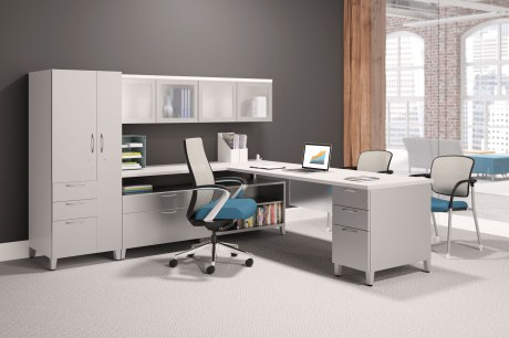 hon contain private office setting aesthetic hon office chairs