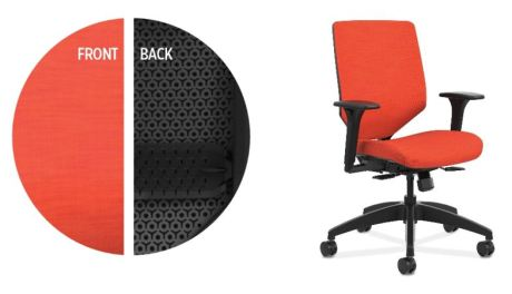 Solve Upholstered ReActiv Back Model from The HON Company