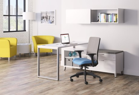 Solve Seating with Upholstered ReActiv Back