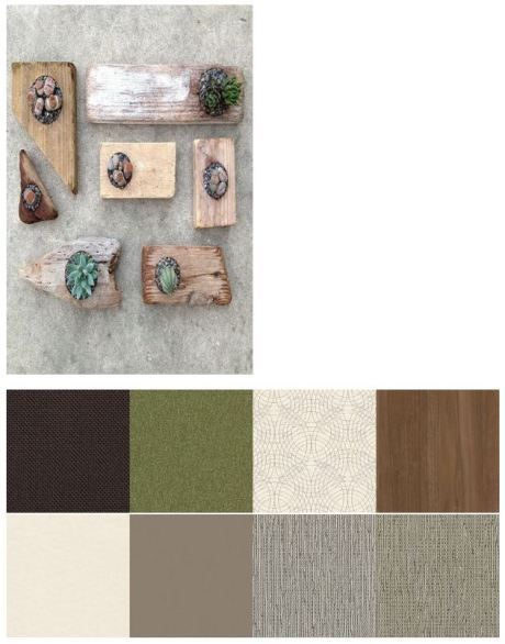 Neutral and Nature color palette from HON