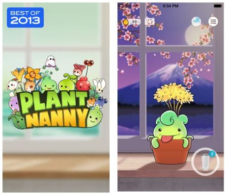 Use the Plant Nanny App to stay hydrated