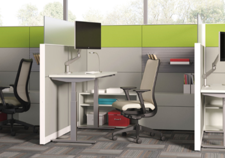 Leave a smaller footprint with workspace accessories