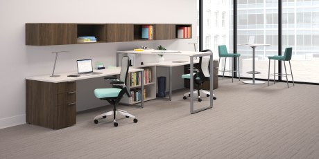 Maximize your office footprint with ergonomic solutions from HON