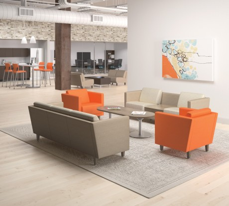 Take a break with new Grove soft seating from HON