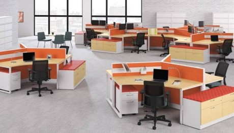 Use modular furniture in the office