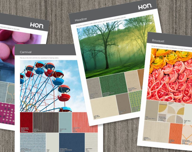 Office color palettes Business Color Palettes Hon Blog Wordpresscom The Impact Of Color On Office Design Forward
