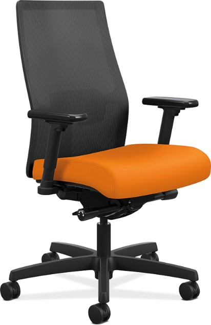 The HON Ignition 2.0 Task Chair Is An Example Of 21st Century  Functionality. It Provides A Breathable Mesh Back, Adjustable Arms, Lumbar  Support, ...